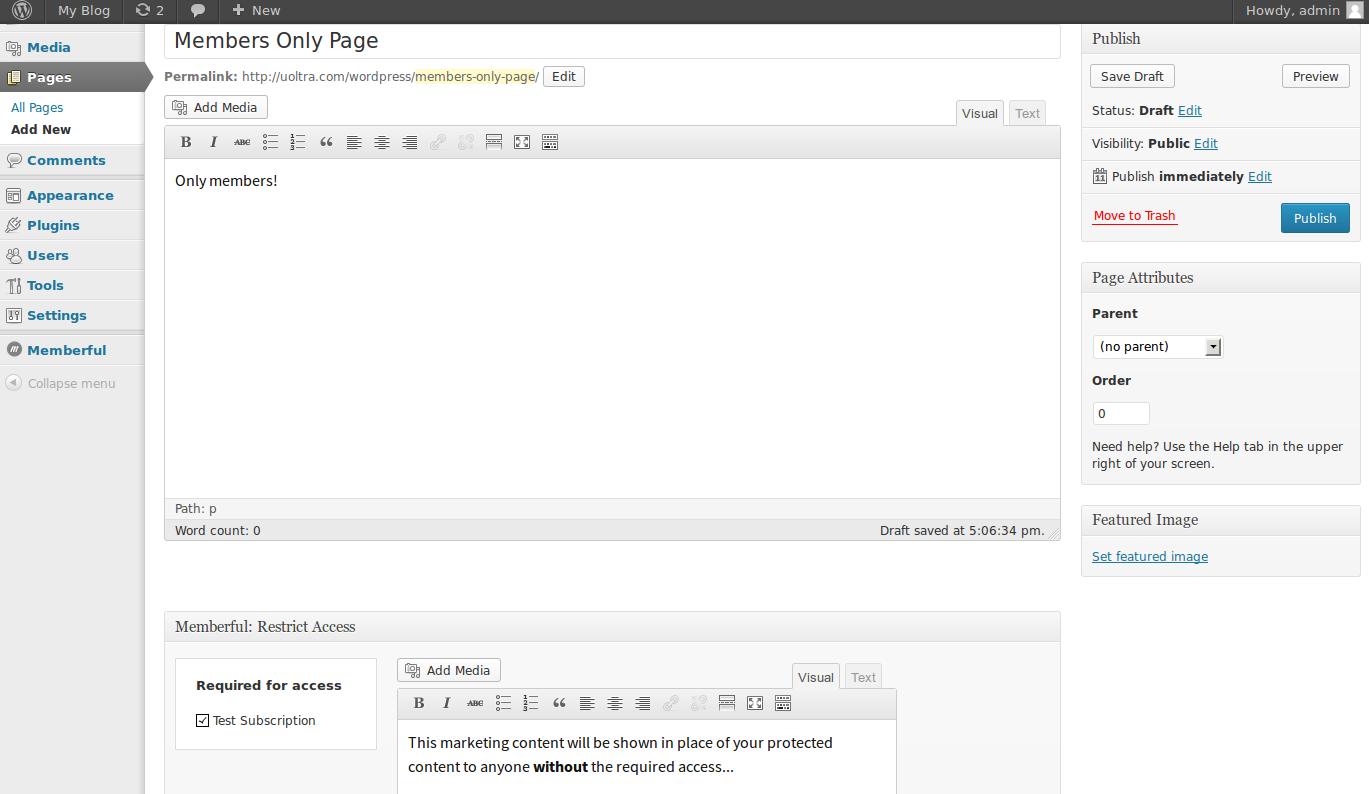 wordpress plugins memberful 11