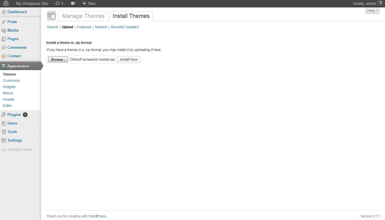 wordpress themes cherryframework cherryframework 3