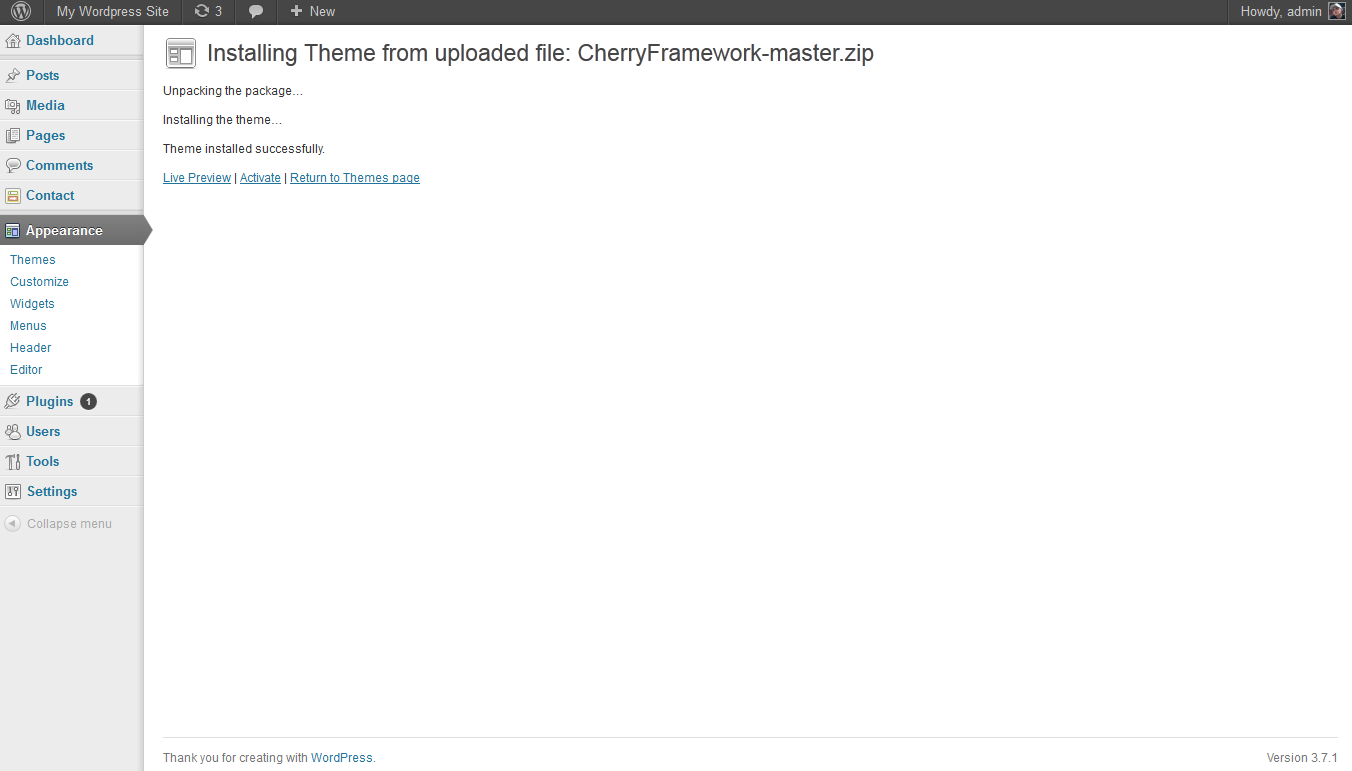 wordpress themes cherryframework cherryframework 4