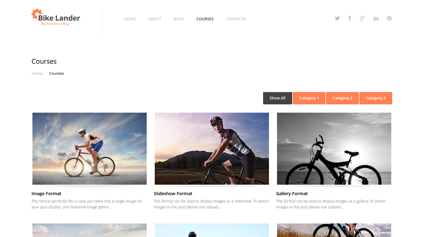 wordpress themes templatemonster biking lookslike6