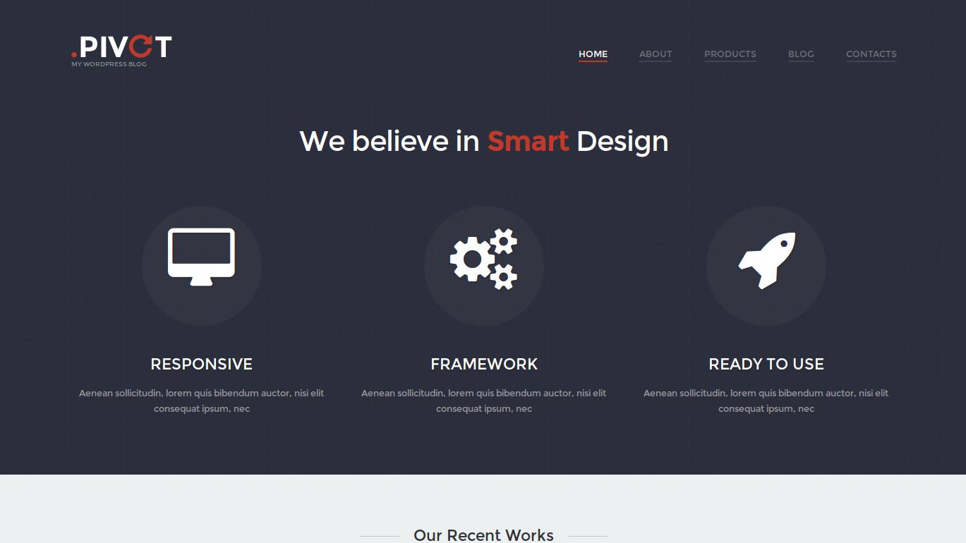 wordpress themes unobtrusive design studio lookslike1