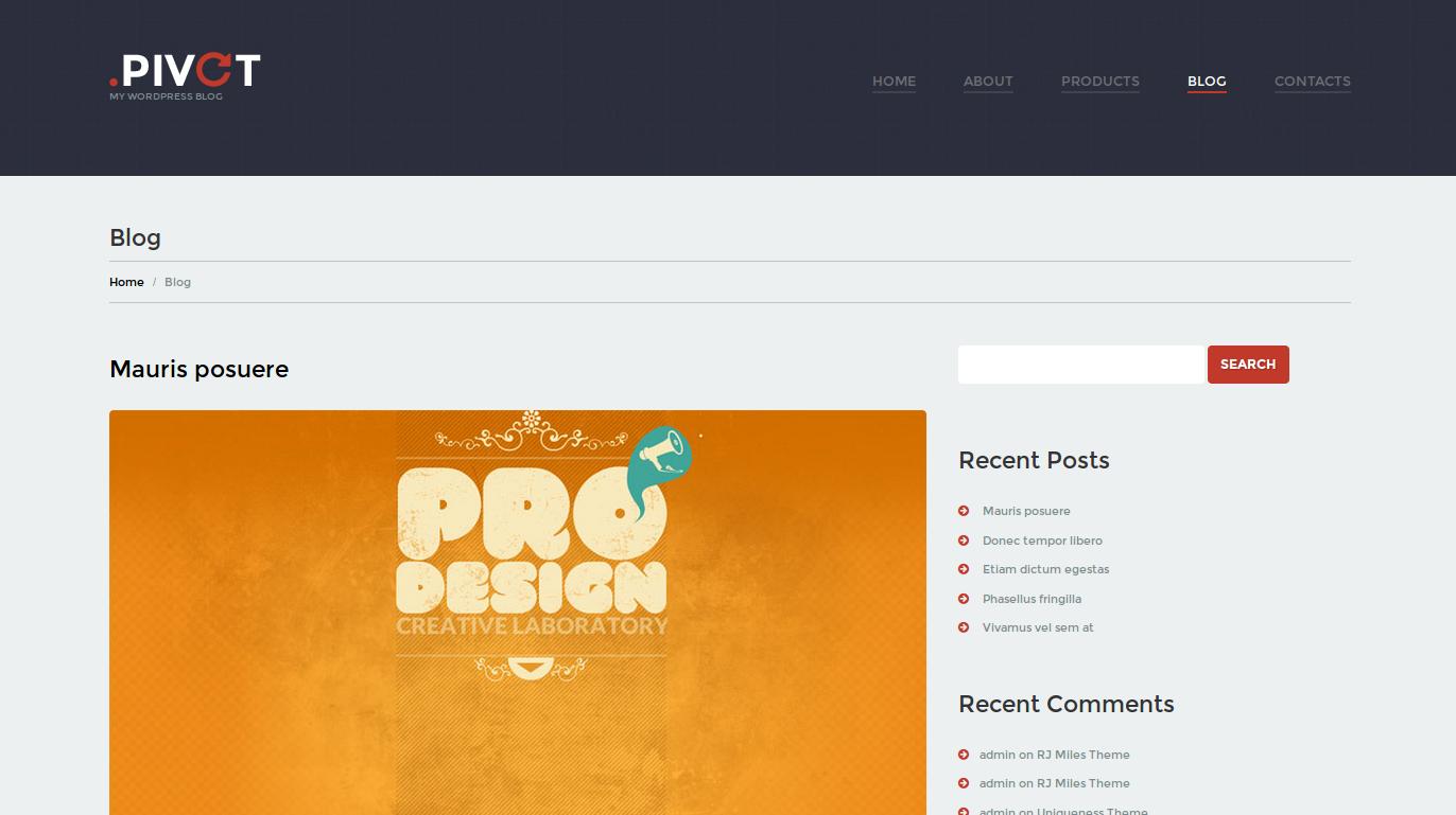 wordpress themes unobtrusive design studio lookslike5