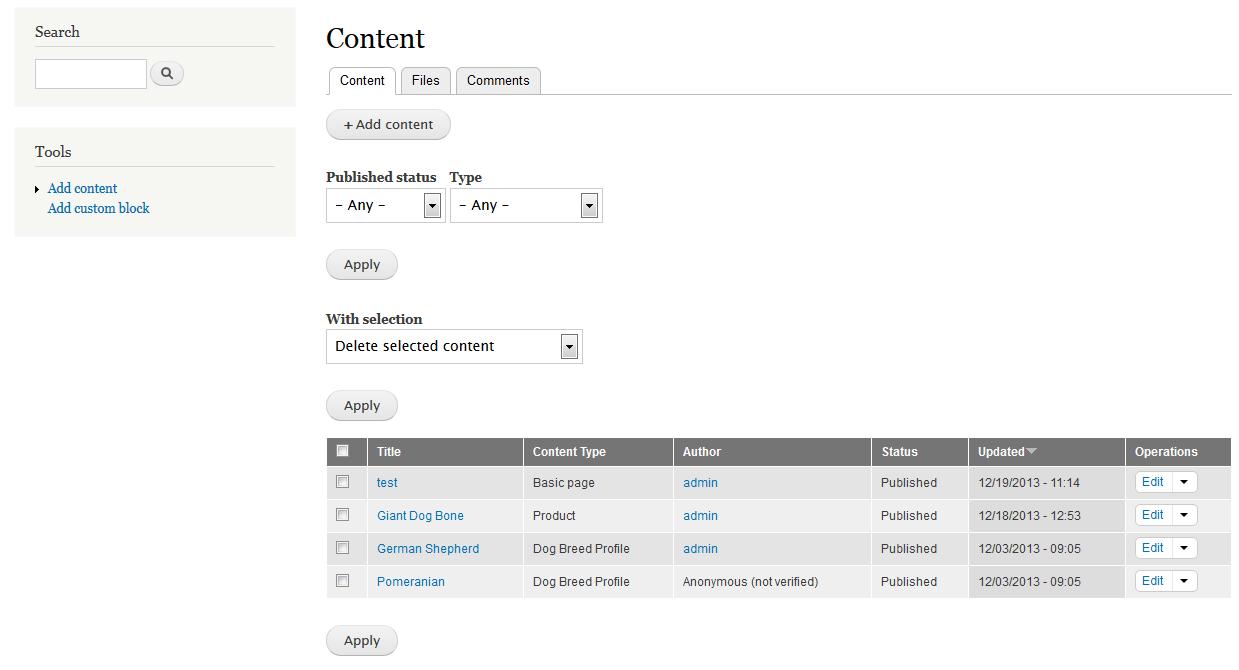 edu Drupal 8 205 change admin theme before