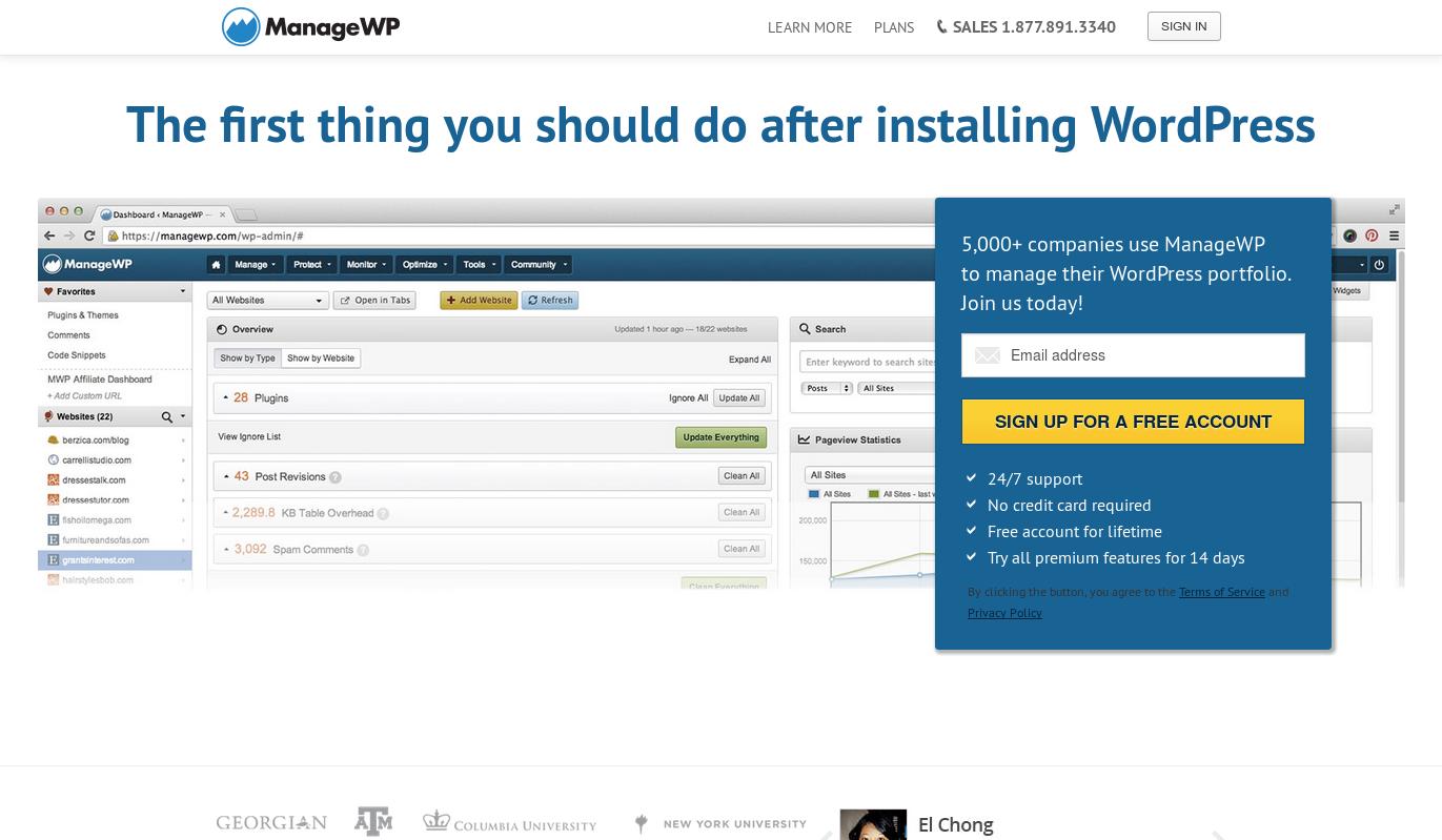 wordpress managewp backups 1