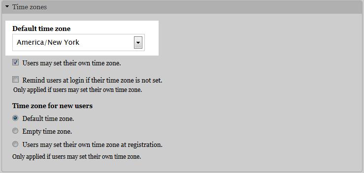edu Drupal 8 205 change time zone 2 select time zone