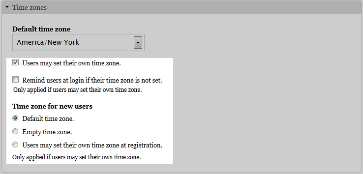 edu Drupal 8 205 change time zone user time zone