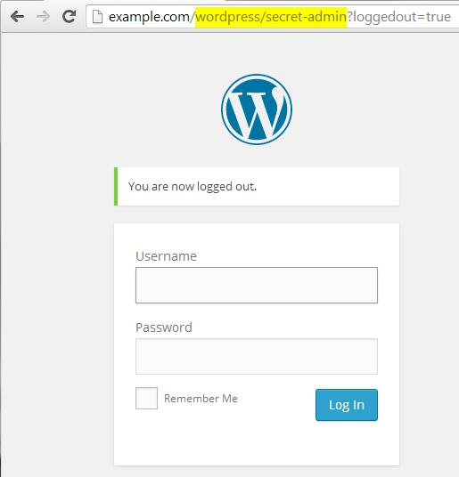after lockdown wp-admin plugin installed wp-login url changed