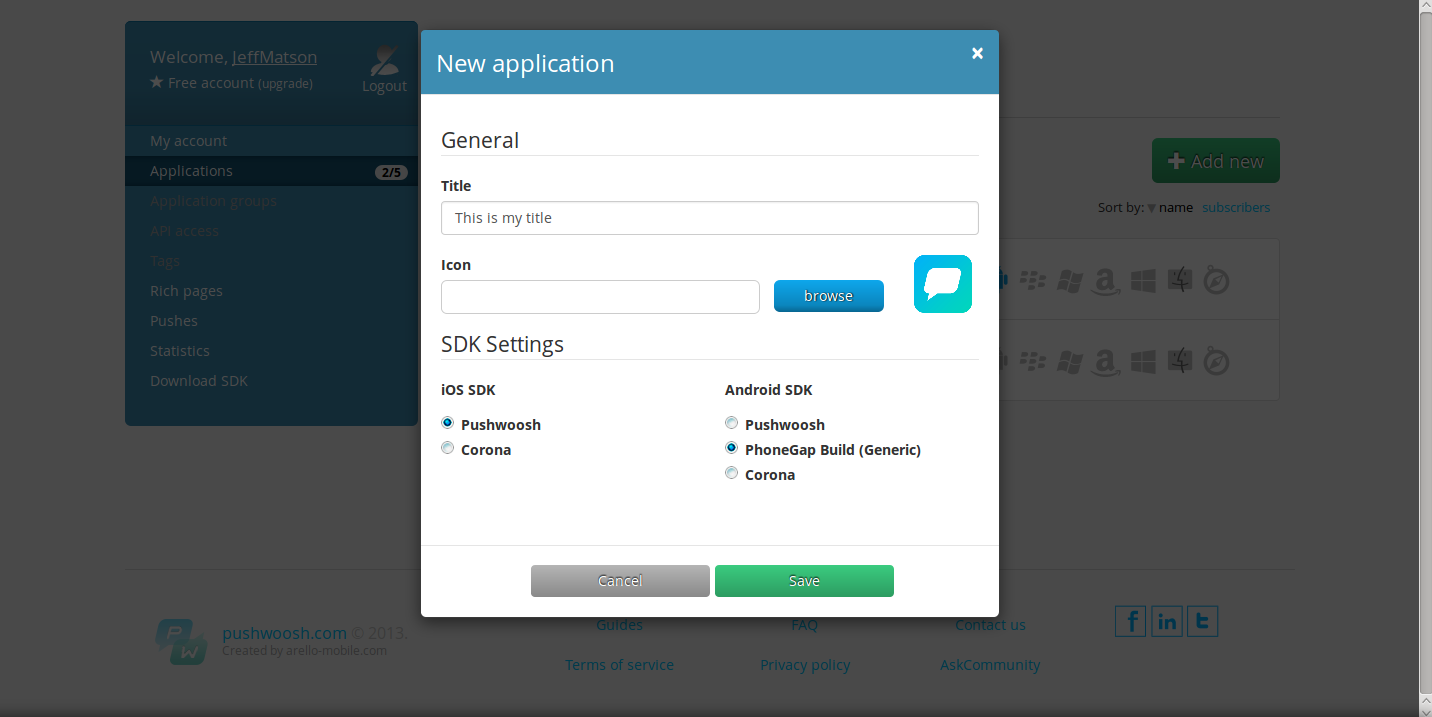 How to Send Android push notifications in AppPresser