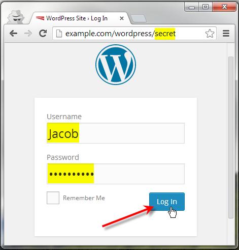 access secret admin url
