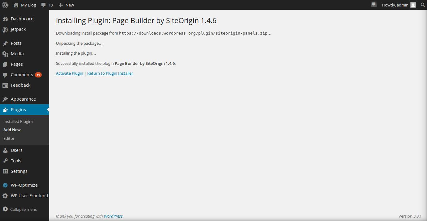 wordpress plugins page builder 3