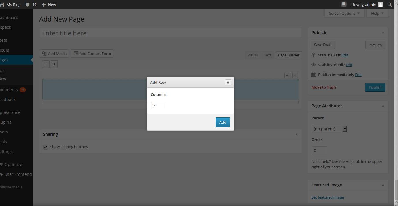 wordpress plugins page builder 7