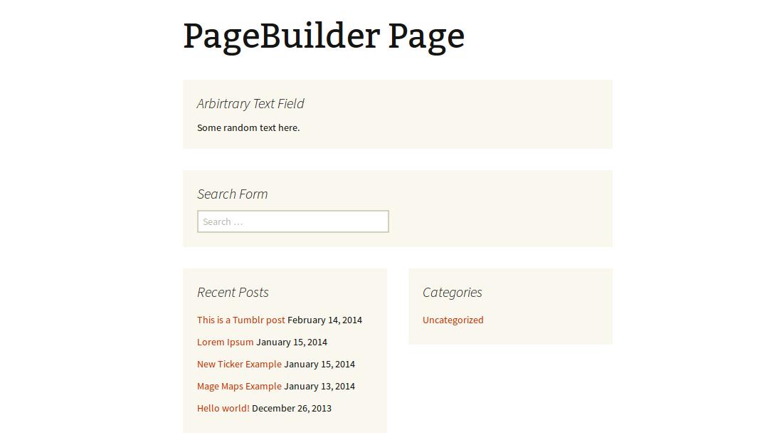 wordpress plugins pagebuilder
