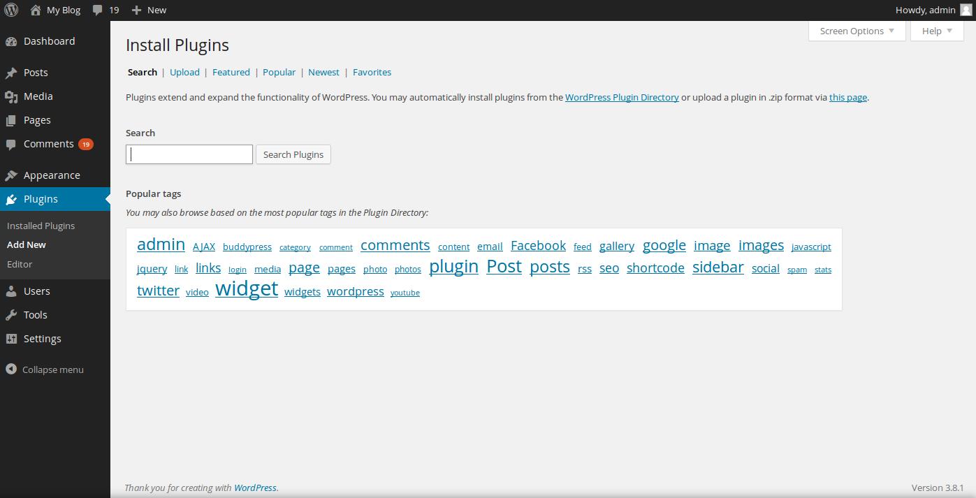 install tumblr importer step 1