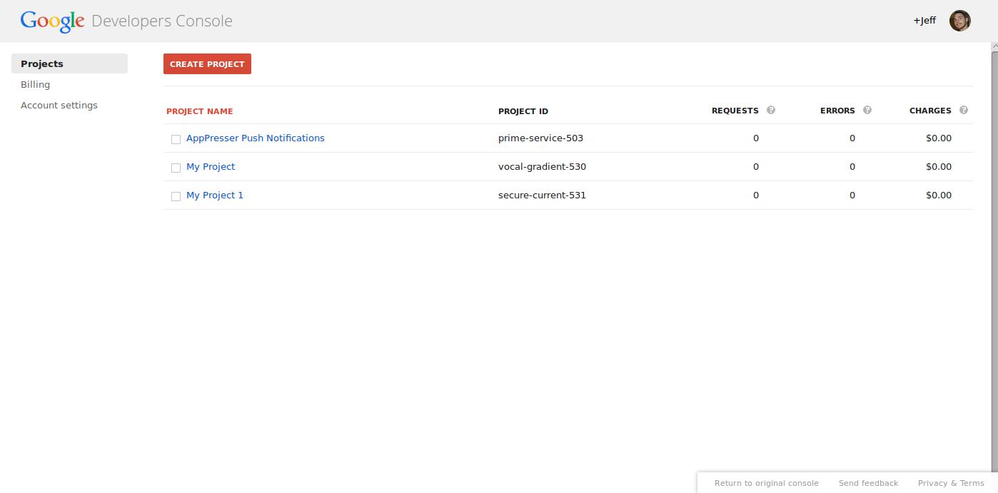 google tools google api keys 1