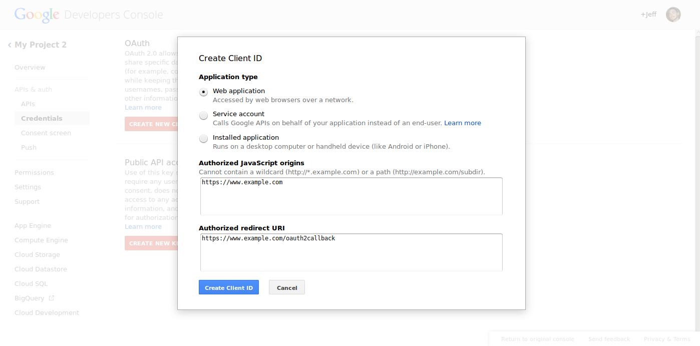 google tools google api keys 6