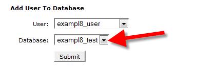 postgresql db user choose database