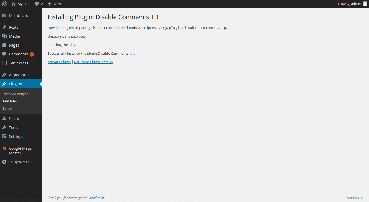 wordpress disable comments 3