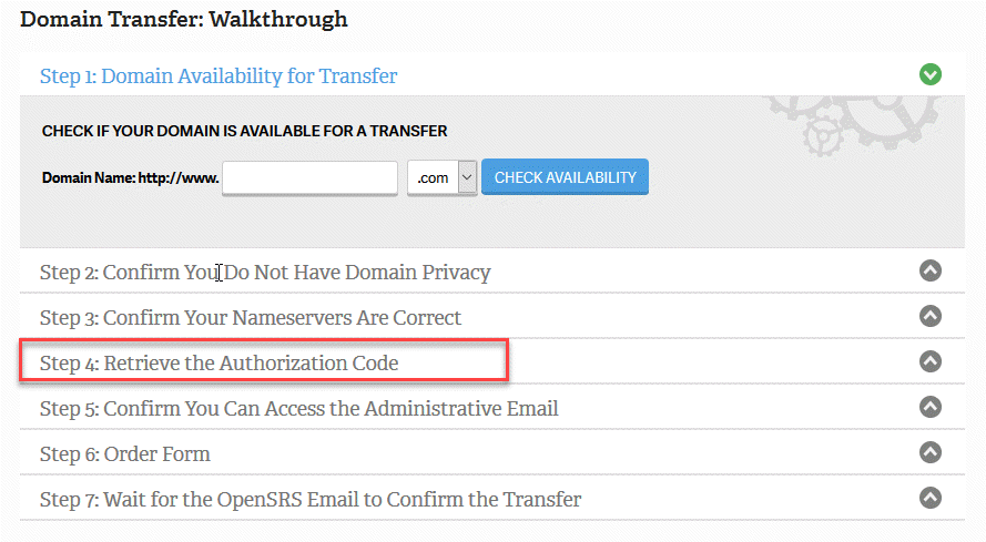Type in your authorization code