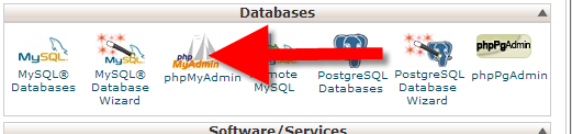 Database access in cPanel