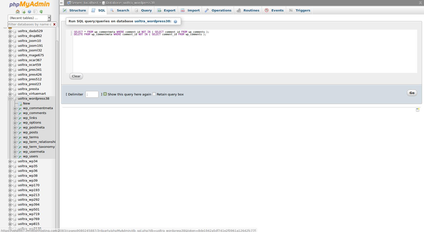 wordpress clean commentmeta 4