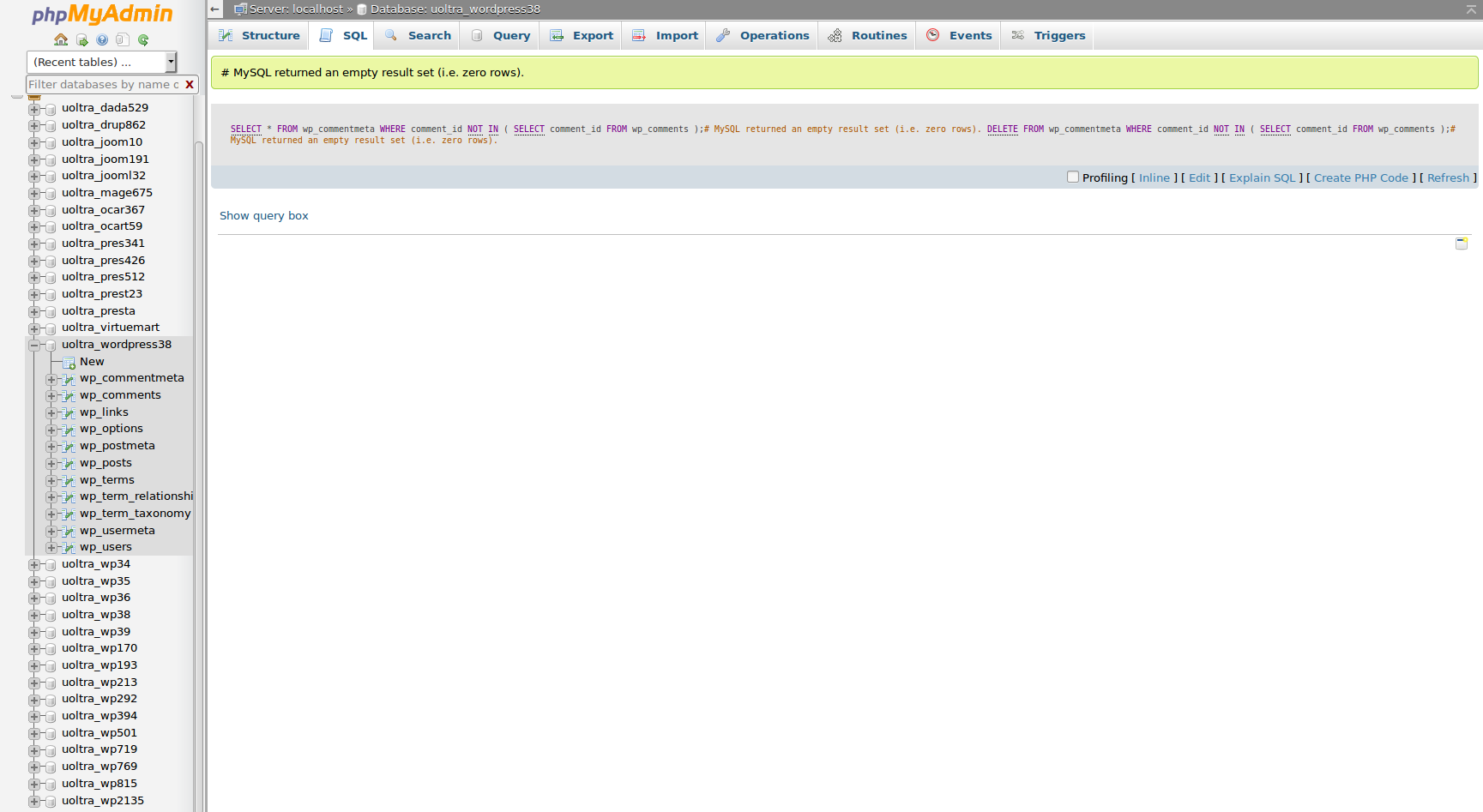 wordpress clean commentmeta 5