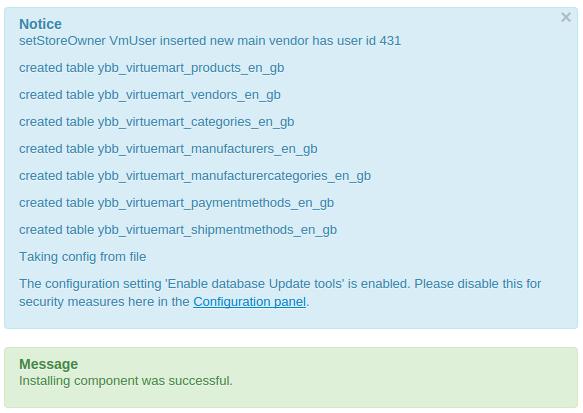 VM3 Installation notice