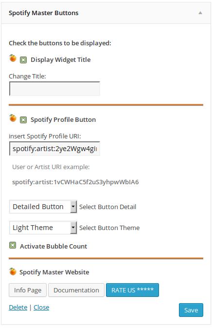 wordpress plugins spotify master 13