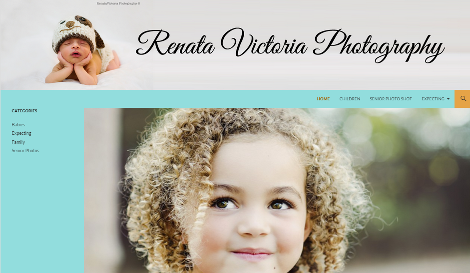 header image with static page