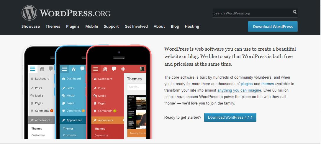 Download WordPress installation files