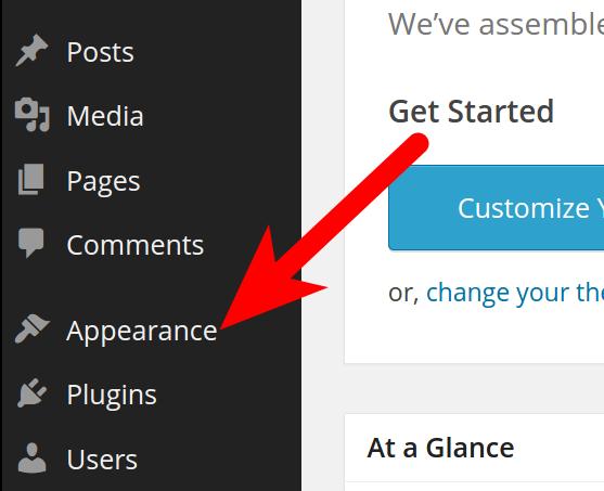Theme Appearance Customizer