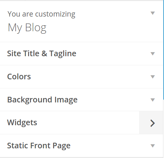 Customize Enigma WP Theme
