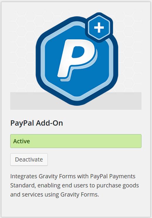 PayPal WordPress Forms