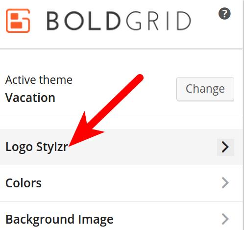 Customize BoldGrid Site Title