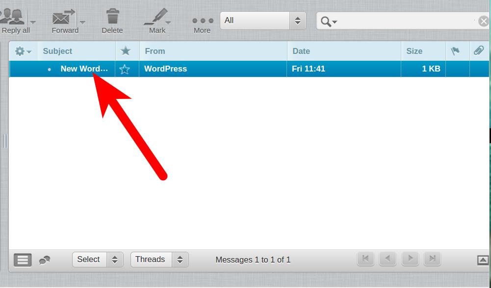 Accessing Inbox
