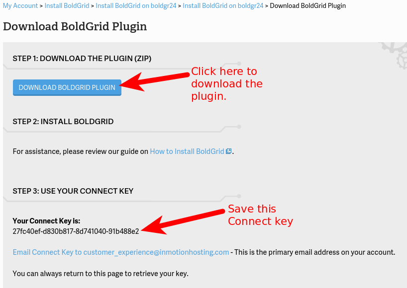 BoldGrid Plugin for WordPress