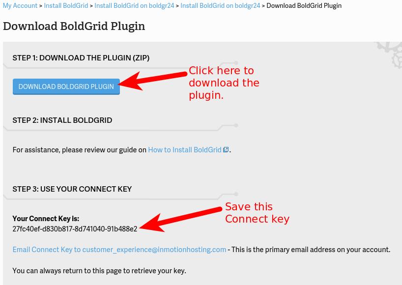 BoldGrid Plugin for WordPress