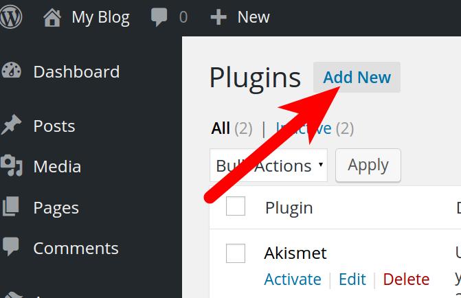Installing Plugins in WordPress