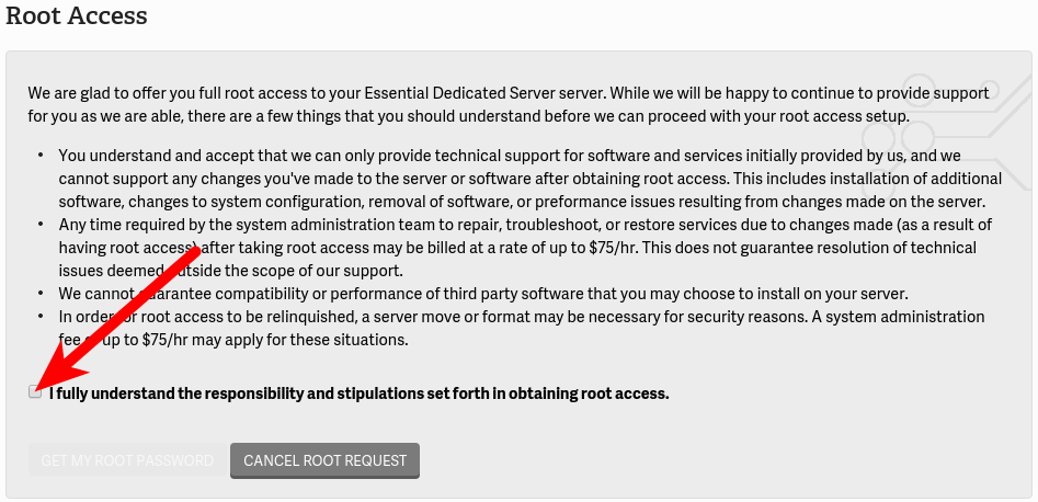 Obtaining Root Access on Dedicated Hosting