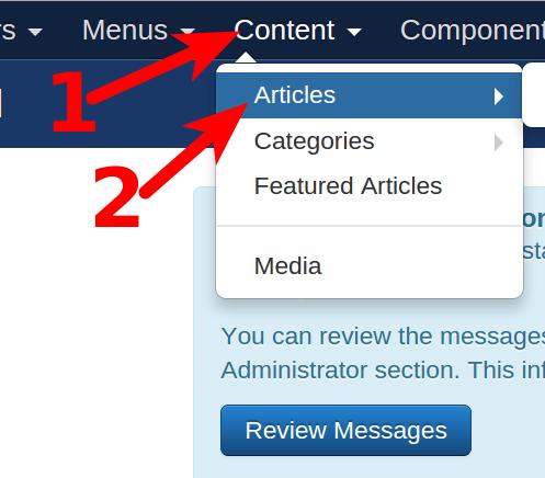Joomla Articles