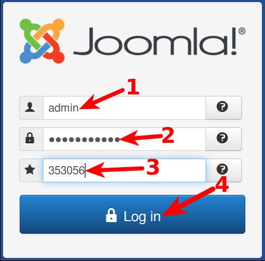 Joomla 3.5 login with the Google Authenticator
