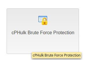dedicated hosting cphulk cp hulk brute force protection