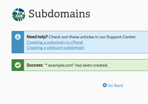 Wildcard Subdomains and DNS | InMotion Hosting Support Center