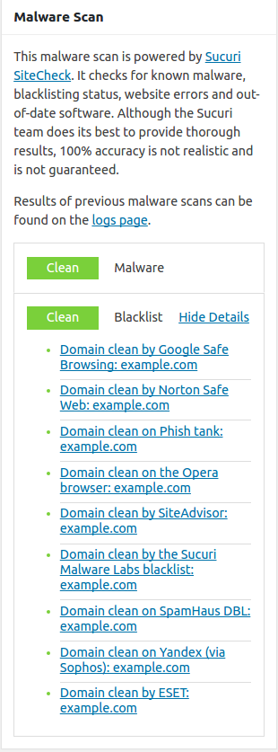 wordpress plugins ithemes security malware scan results