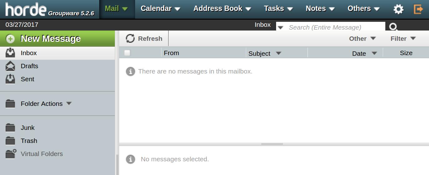email horde login horde webmail
