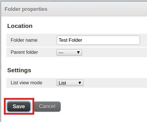 email imap folders save roundcube folder