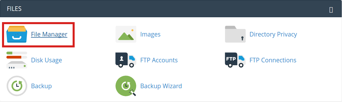 security sucuri server side scanner cpanel file manager