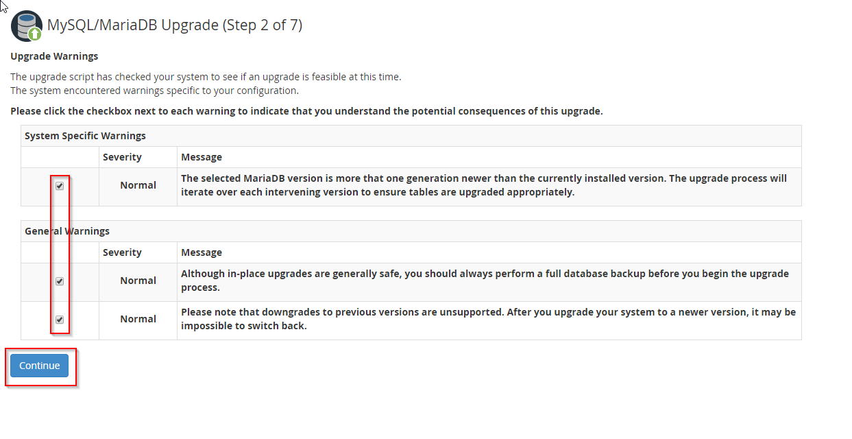 Step 2 of 7