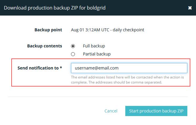 designate email address