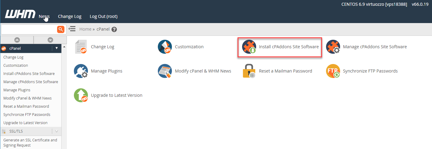 How to Enable the WordPress Manager in cPanel | InMotion