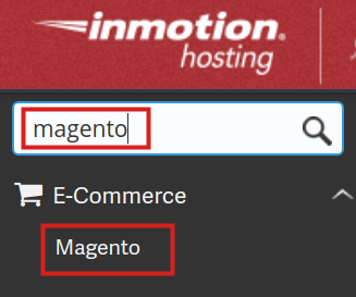 Magento in Softaculous